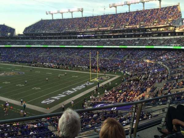 M&T Bank Stadium, section: 218, row: 3, seat: 7