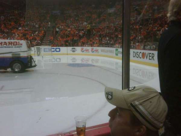 Wells Fargo Center, section: 103, row: 2, seat: 13