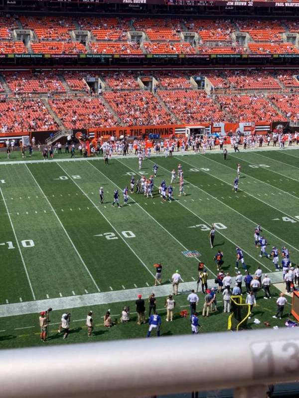 FirstEnergy Stadium, section: 305, row: WC, seat: 12