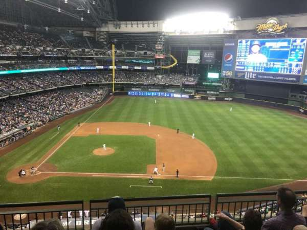 Miller Park, section: 415, row: 4, seat: 9