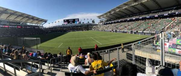 Dignity Health Sports Park, section: 141, row: J, seat: 23