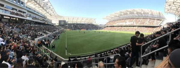 Banc of California Stadium, section: 125, row: J, seat: 3