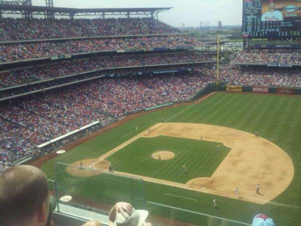 Citizens Bank Park, section: 413, row: 4, seat: 21
