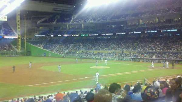 Marlins Park, section: 22, row: 8, seat: 24
