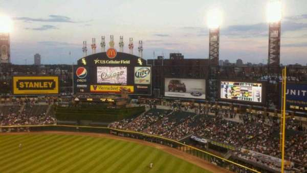 Guaranteed Rate Field, section: 522, row: 9, seat: 17