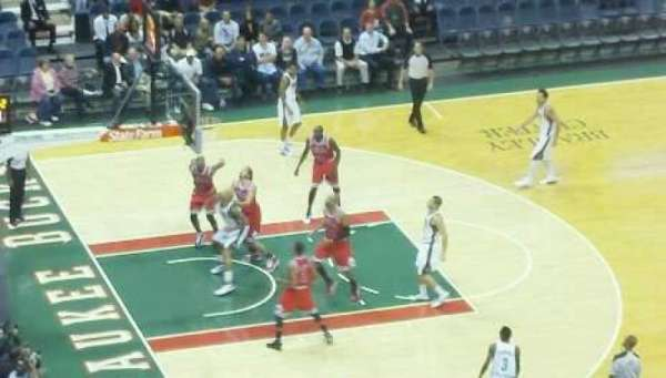 BMO Harris Bradley Center, section: 404, row: R