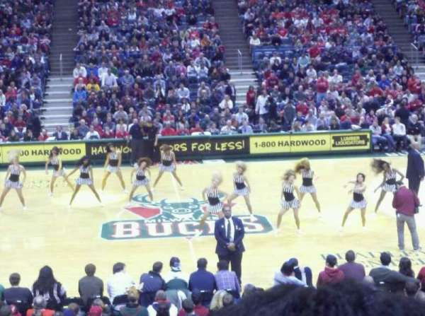 BMO Harris Bradley Center, section: 214, row: S, seat: 10
