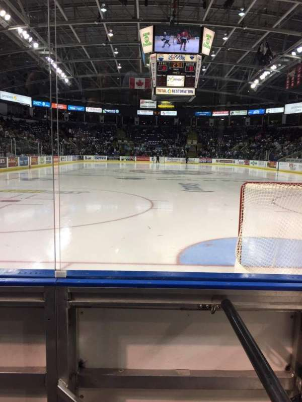 Prospera place, section: 113, row: B, seat: 15
