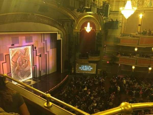 Lyric Theatre, section: BBX, row: C, seat: 1