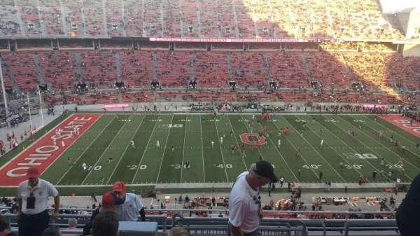 Ohio Stadium, section: 19C, row: 12, seat: 13