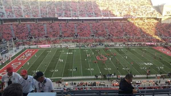 Ohio Stadium, section: 19C, row: 11, seat: 13