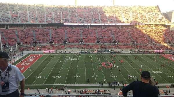 Ohio Stadium, section: 19C, row: 9, seat: 13