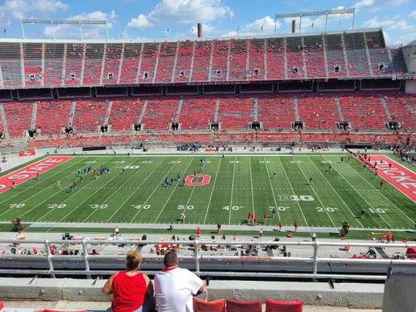 Ohio Stadium, section: 21C, row: 6, seat: 32