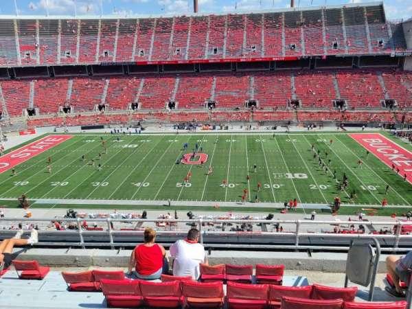 Ohio Stadium, section: 21C, row: 7, seat: 32