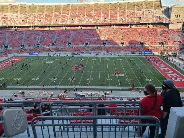 Ohio Stadium, section: 21C, row: 20, seat: 3