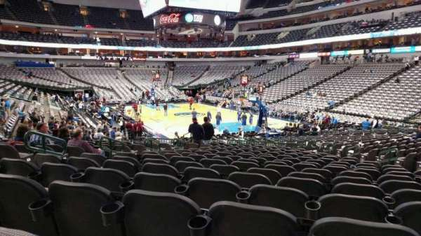 American Airlines Center, section: 114, row: R, seat: 12