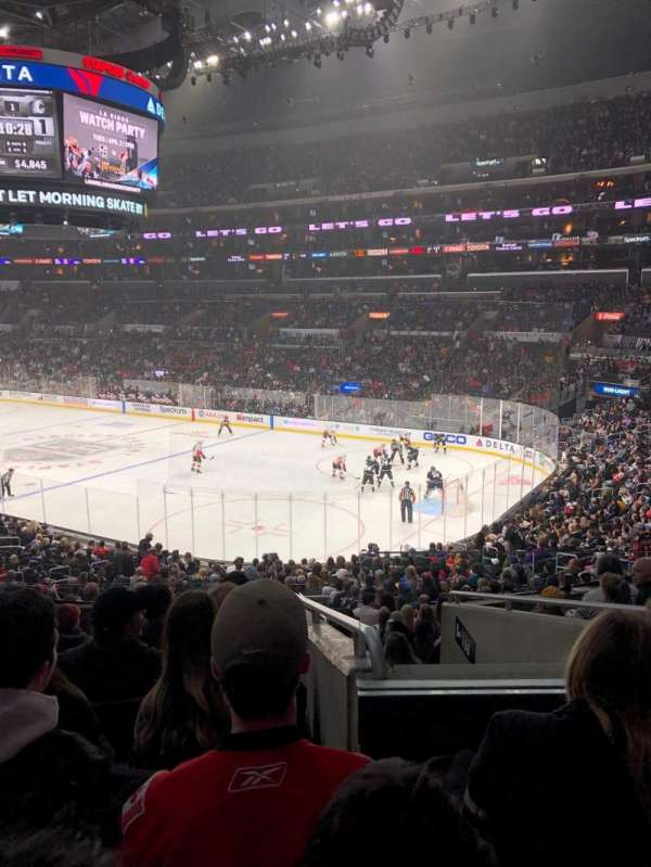 Staples Center, section: PR10, row: 8, seat: 6