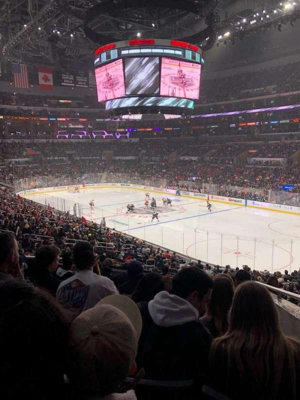 Staples Center, section: PR10, row: 8, seat: 6