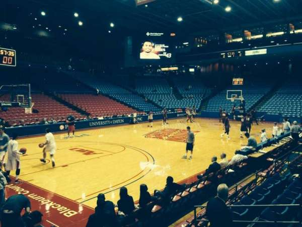 University Of Dayton Arena, section: 107, row: H, seat: 6
