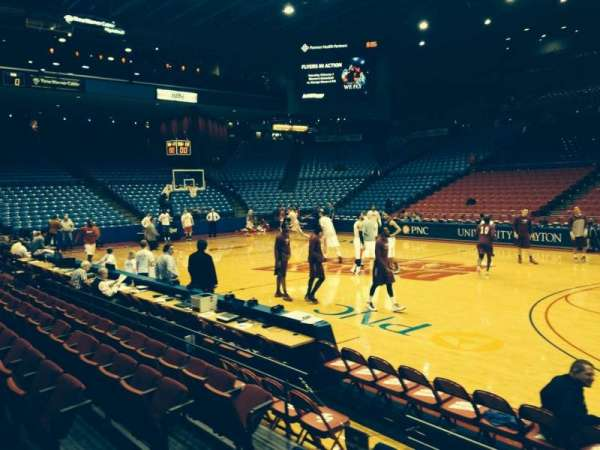 University Of Dayton Arena, section: 103, row: E, seat: 8