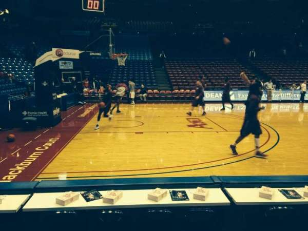 University Of Dayton Arena, section: 114, row: C, seat: 5