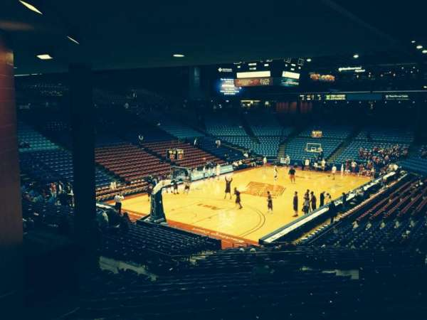 University Of Dayton Arena, section: 223, row: O, seat: 10