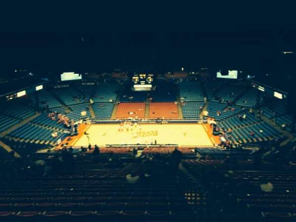 University Of Dayton Arena, section: 404, row: O, seat: 2