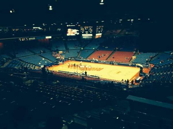 University Of Dayton Arena, section: 301, row: M, seat: 4