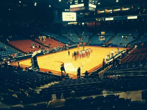 University Of Dayton Arena, section: 210, row: H, seat: 6