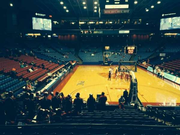 University Of Dayton Arena, section: 213, row: D, seat: 6