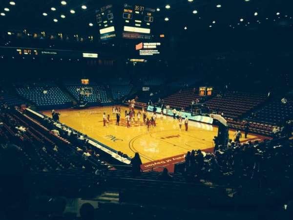 University Of Dayton Arena, section: 214, row: i, seat: 8