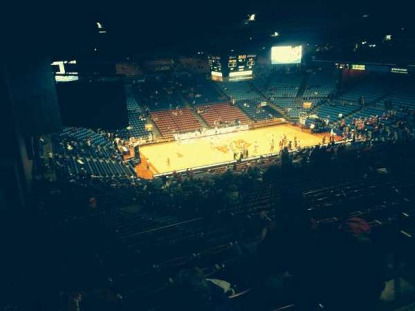 University Of Dayton Arena, section: 414, row: G, seat: 4