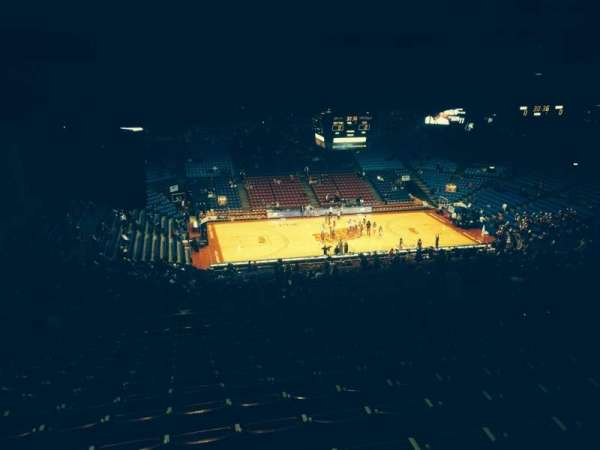 University Of Dayton Arena, section: 413, row: O, seat: 8