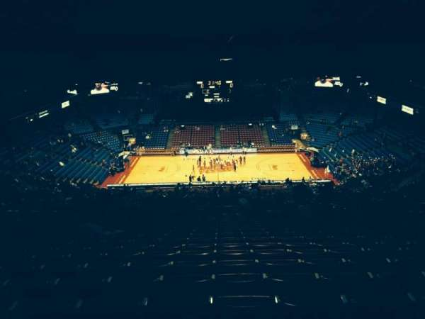 University Of Dayton Arena, section: 411, row: Q, seat: 8