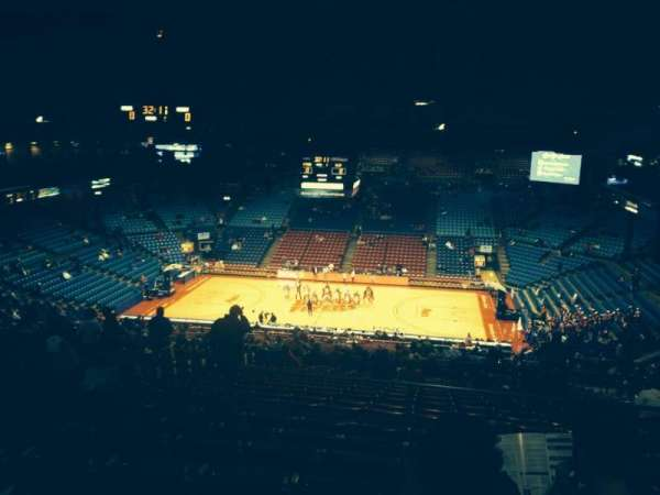 University Of Dayton Arena, section: 410, row: H, seat: 8