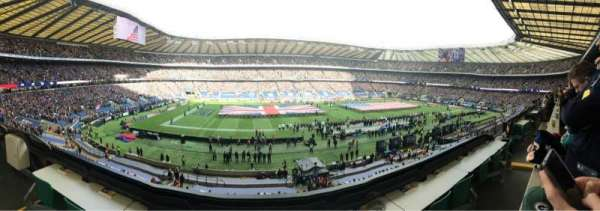 Twickenham Stadium, section: M10, row: 51, seat: 248