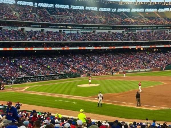 Globe Life Park in Arlington, section: 36, row: 22, seat: 15