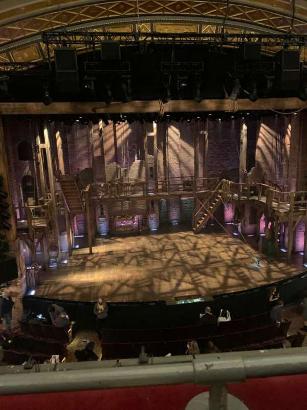 Richard Rodgers Theatre, section: Front Mezzanine C, row: A, seat: 113