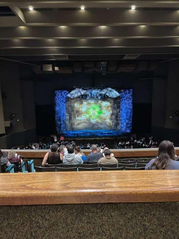 Music Hall at Fair Park, section: GG-BAL, row: G, seat: 1