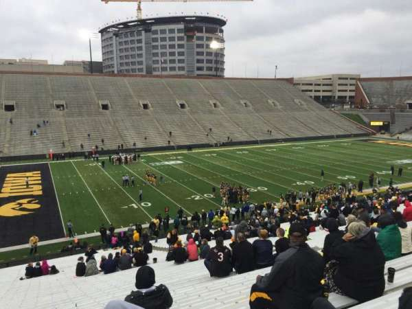 Kinnick Stadium, section: 130, row: 47, seat: 10