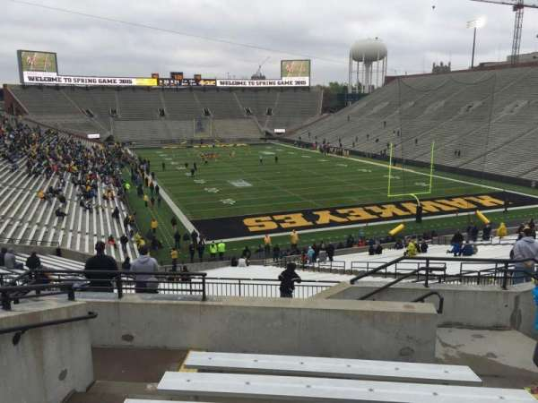 Kinnick Stadium, section: 219, row: 8, seat: 6