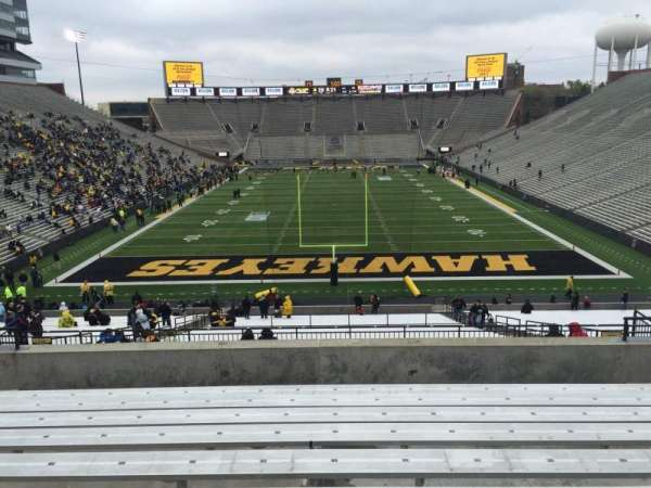 Kinnick Stadium, section: 216, row: 10, seat: 14