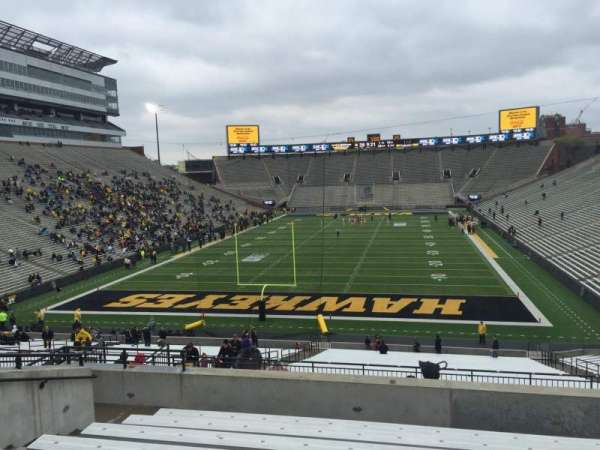 Kinnick Stadium, section: 215, row: 10, seat: 15