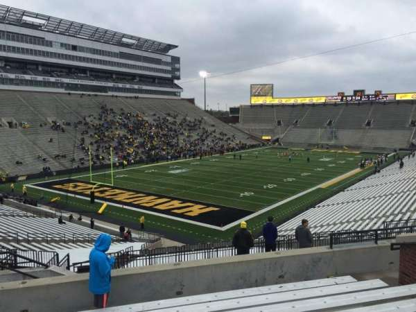 Kinnick Stadium, section: 211, row: 10, seat: 10