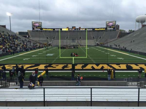 Kinnick Stadium, section: 116, row: 24, seat: 14