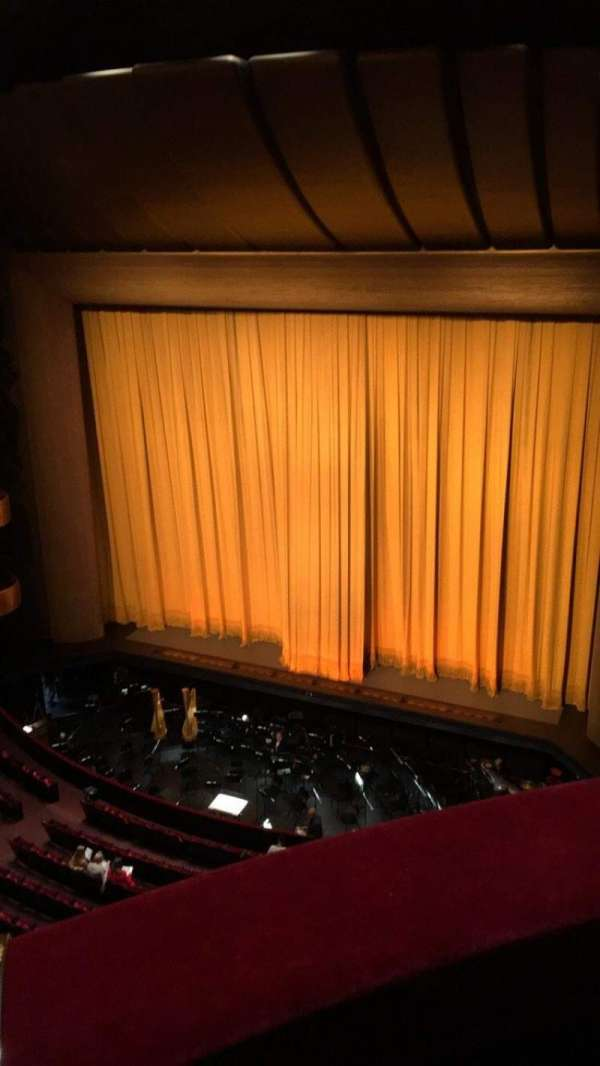David H. Koch Theater, section: 4th Ring, row: A, seat: 26