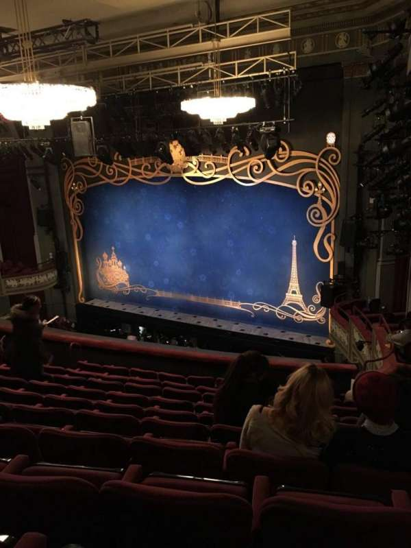 Broadhurst Theatre, section: Mezz, row: K, seat: 26