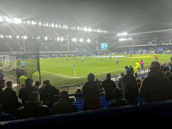Goodison Park, section: LV1, row: B, seat: 11