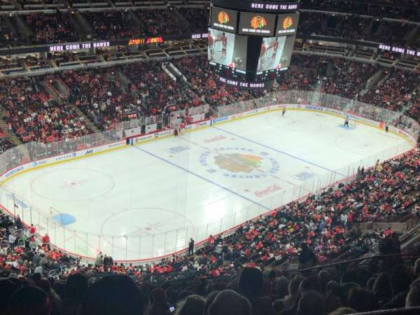 United Center, section: 322, row: 17, seat: 13