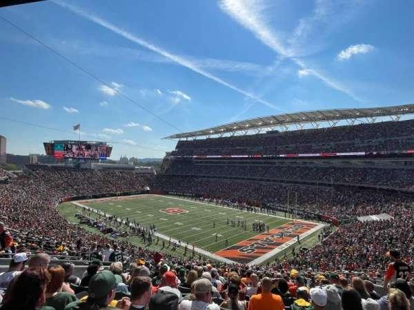 Paul Brown Stadium, section: 232, row: 21, seat: 12